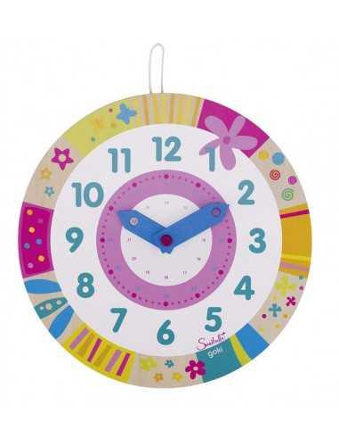 Horloge en bois pour apprendre l'heure GOKI