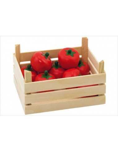 Cagette en bois Tomates GOKI