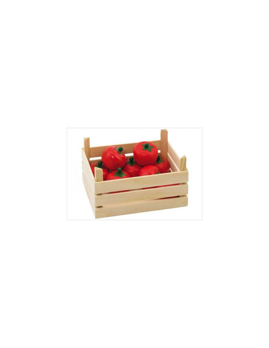 cagette en bois tomate marchande goki mes tendances bio. Black Bedroom Furniture Sets. Home Design Ideas