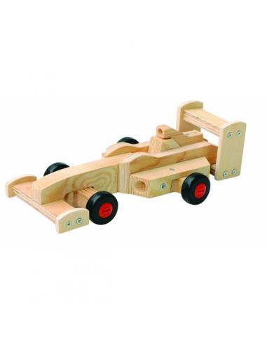 Fabriquer une voiture en bois jouet for Voiture a construire