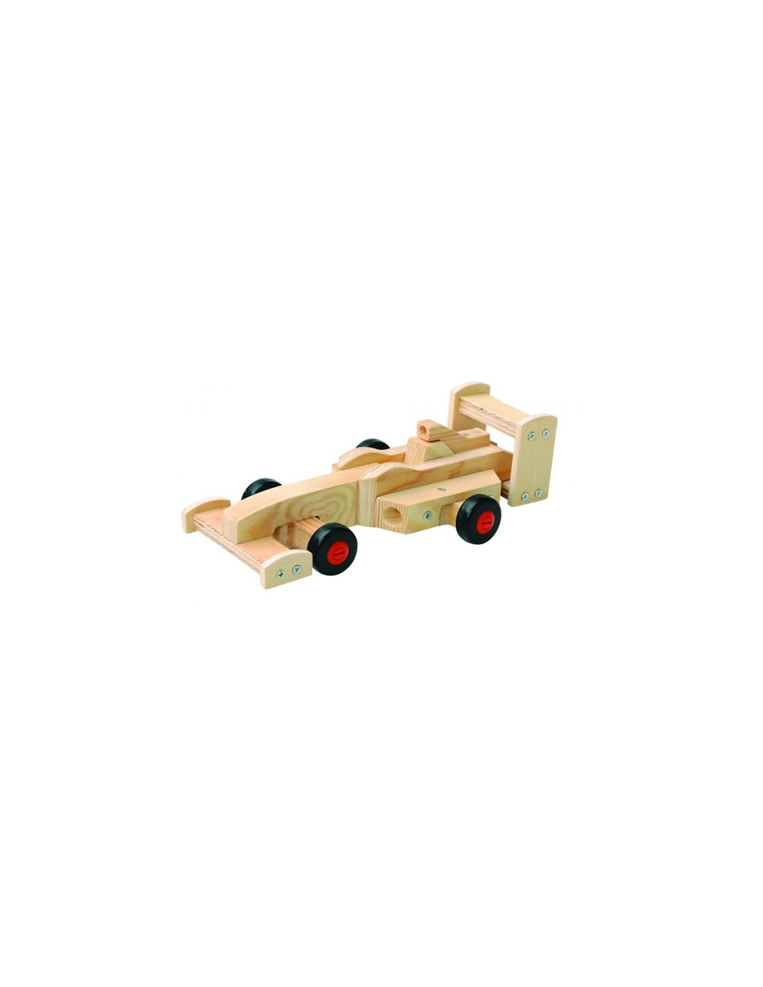 Fabriquer une voiture en bois jouet - Fabriquer une voiture en carton ...