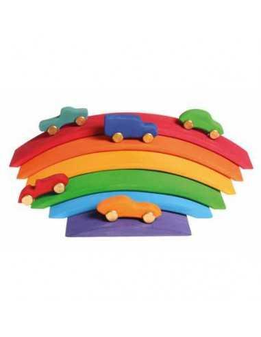 Pont en Bois Multicolore GRIMMS