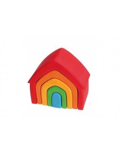 Maisons Gigognes en bois multicolores GRIMM'S