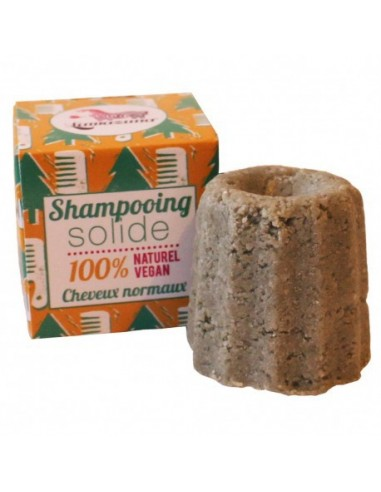 Shampooing solide cheveux normaux au sapin argenté
