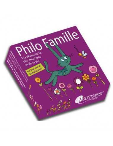 Philo Famille Jeu de cartes POURPENSER