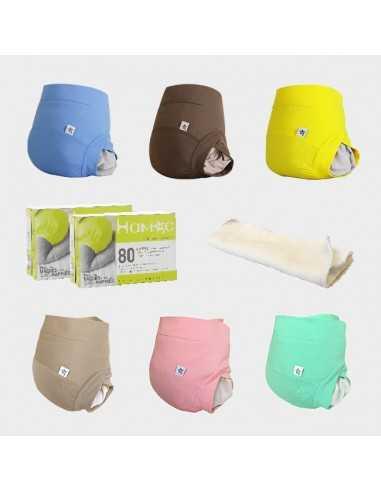 Pack couche lavable - Microfibre - Hamac