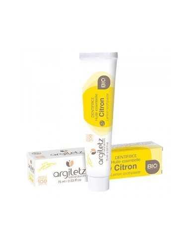 Dentifrice Bio Citron ARGILETZ