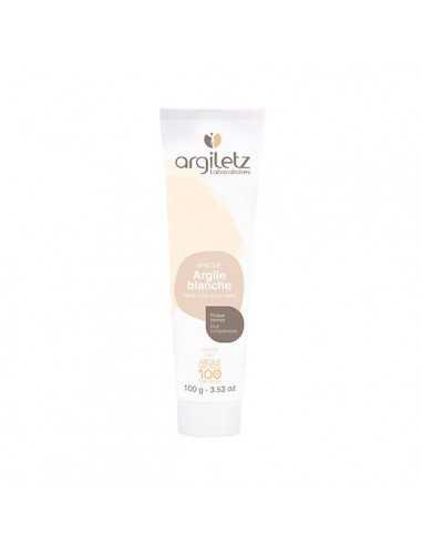 Masque argile blanche 100 Gr ARGILETZ