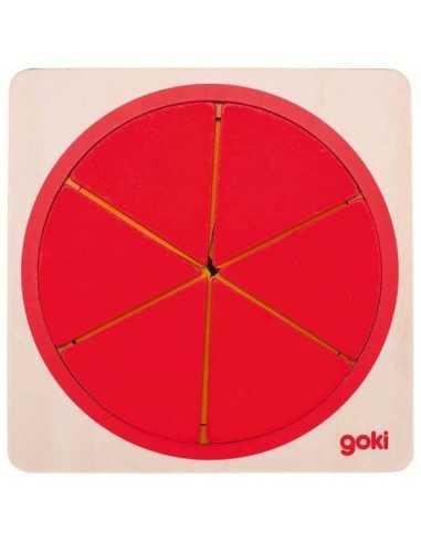Cercle Puzzle en Bois GOKI MES TENDANCES BIO