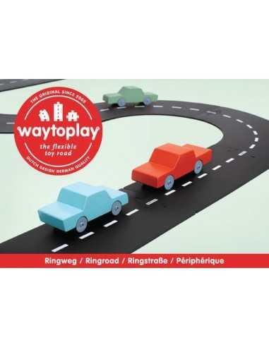 Route Flexible  12 pièces WAY TO PLAY MES TENDANCES BIO