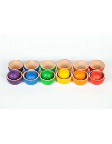 12 Boles et 6 Boules colorés GRAPAT - MES TENDANCES BIO