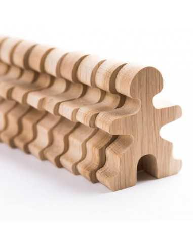 Flockmen Bonhommes en bois 16 pièces