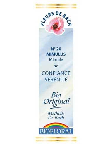 Mimulus Fleur de Bach Bio BIOFLORAL