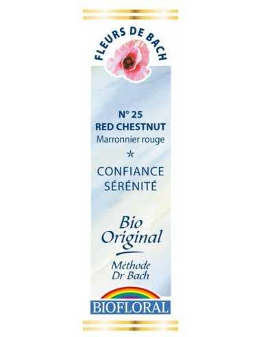 Red Chesnut Fleur de Bach Bio BIOFLORAL