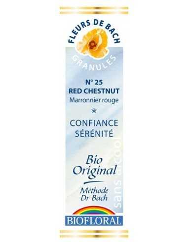 Red Chestnut Granules Fleur de Bach BIOFLORAL