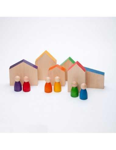 6 Maisons et 6 Nins Bois GRAPAT - MES TENDANCES BIO