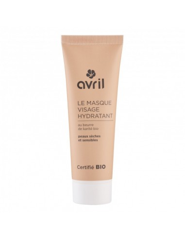 Masque Visage Hydratant AVRIL - MES TENDANCES BIO
