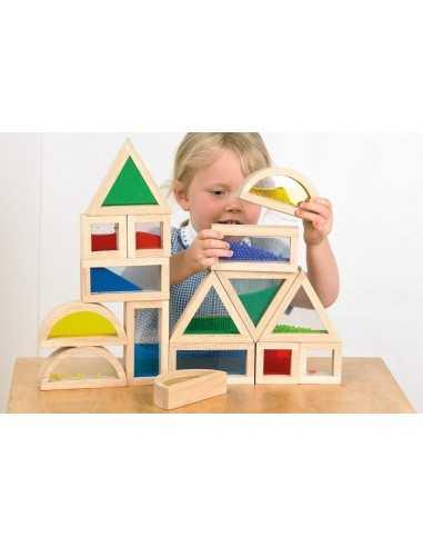 Blocks Sensoriels 16 pièces TICKIT - MES TENDANCES BIO