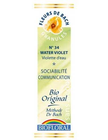 Water Violet Granules Fleur de Bach BIOFLORAL