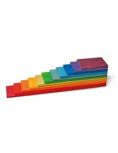 11 Planchettes de Construction Pastel GRIMM'S - MES TENDANCES BIO