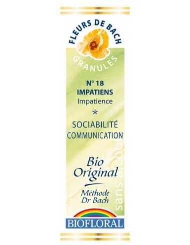 Impatiens Granules Fleur de Bach BIOFLORAL