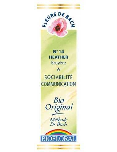 Heather Fleur De Bach Bio BIOFLORAL