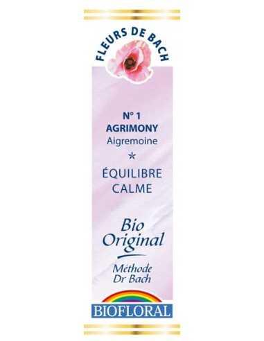 Agrimony  Fleurs de Bach bio BIOFLORAL