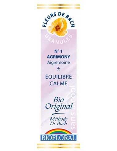 Agrimony Granules Fleurs de bach BIOFLORAL