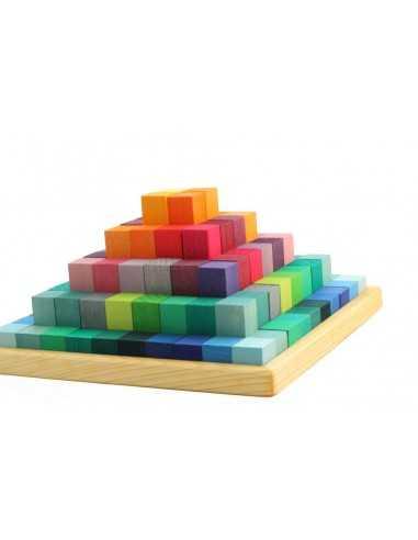 Pyramide de Cube Arc en Ciel GRIMM'S - MES TENDANCES BIO