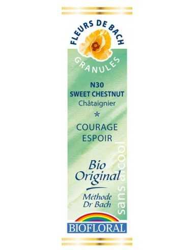 Sweet Chestnut Fleur de Bach bio Granules BIOFLORAL