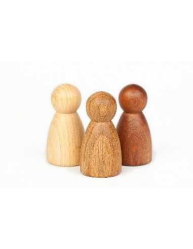 3 Nins en Bois Brut GRAPAT - MES TENDANCES BIO