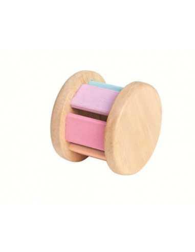 Hochet Roller Pastel PLAN TOYS - MES TENDANCES BIO