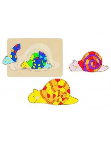 Puzzle escargot GOKI