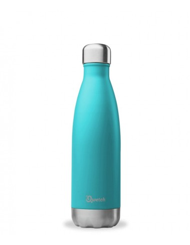 gourde-inox-isotherme-turquoise-500 ml-qwetch-mes-tendances-bio