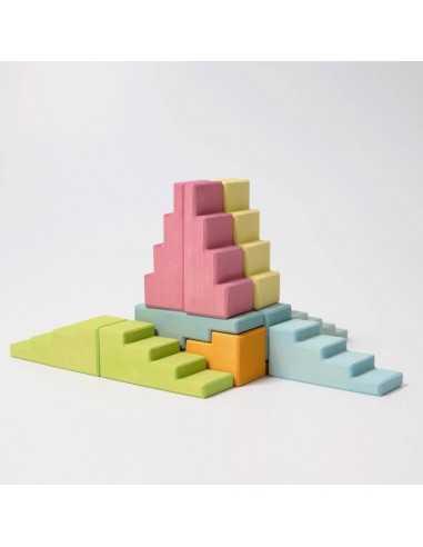 pieces-de-construction-en-bois-pastel-en escalier-grimm-s-mes-tendances-bio