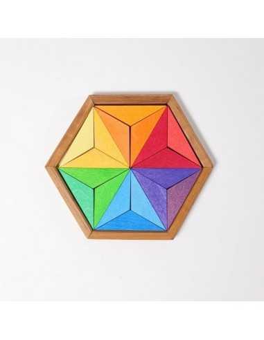 puzzle etoile 18 pieces en bois grimms mes tendances bio