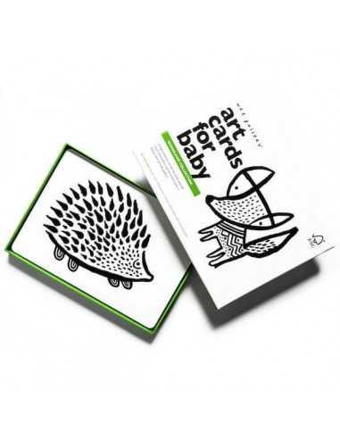 6-cartes-noir-blanc-amis-de-la-foret-wee-gallery-mes-tendances-bio