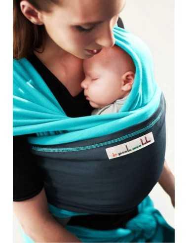 echarpe-de-portage-originale-longue-turquoise-poche-bleu-paon-jpmbb-mes-tendances-bio