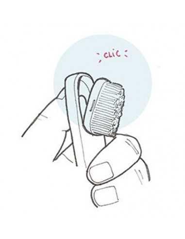 Lot de 2 Têtes pour brosse à Dents Méduim