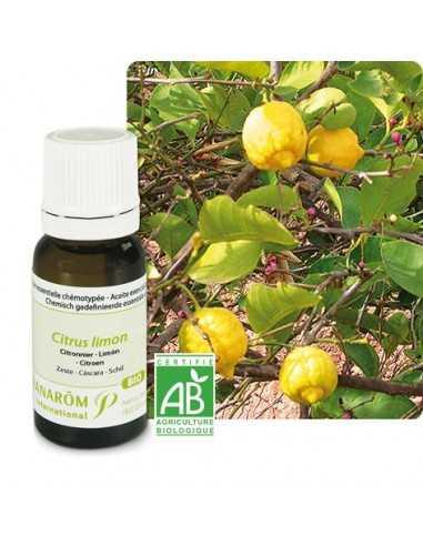 Huile Essentielle de citron zeste BIO PRANAROM