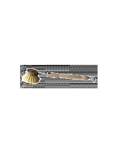 Brosse vaisselle en bois et sa recharge  LA DROGUERIE ECOLOGIQUE