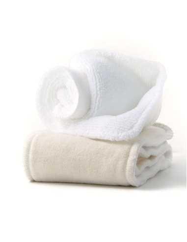 2 Absorbants inserts lavables coton bio HAMAC