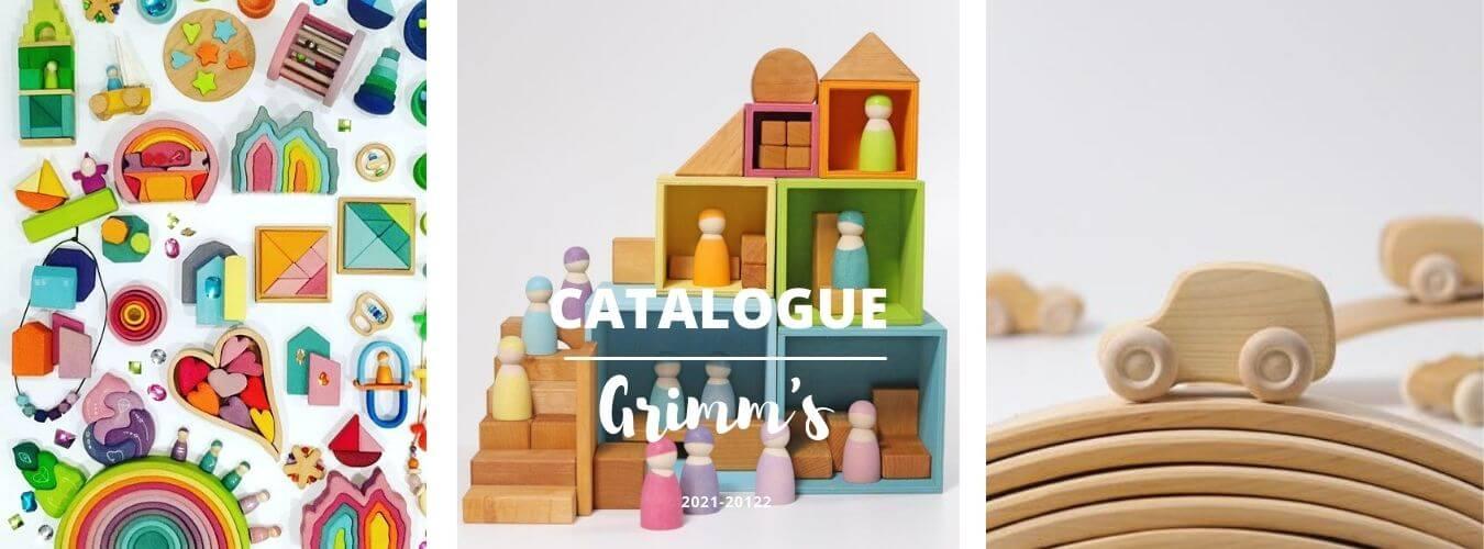 Catalogue  jouets grimm's Mes tendances bio